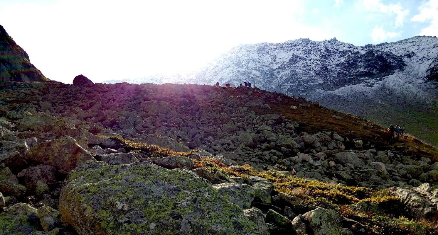 Wanderung über den Gotthard Basistunnel