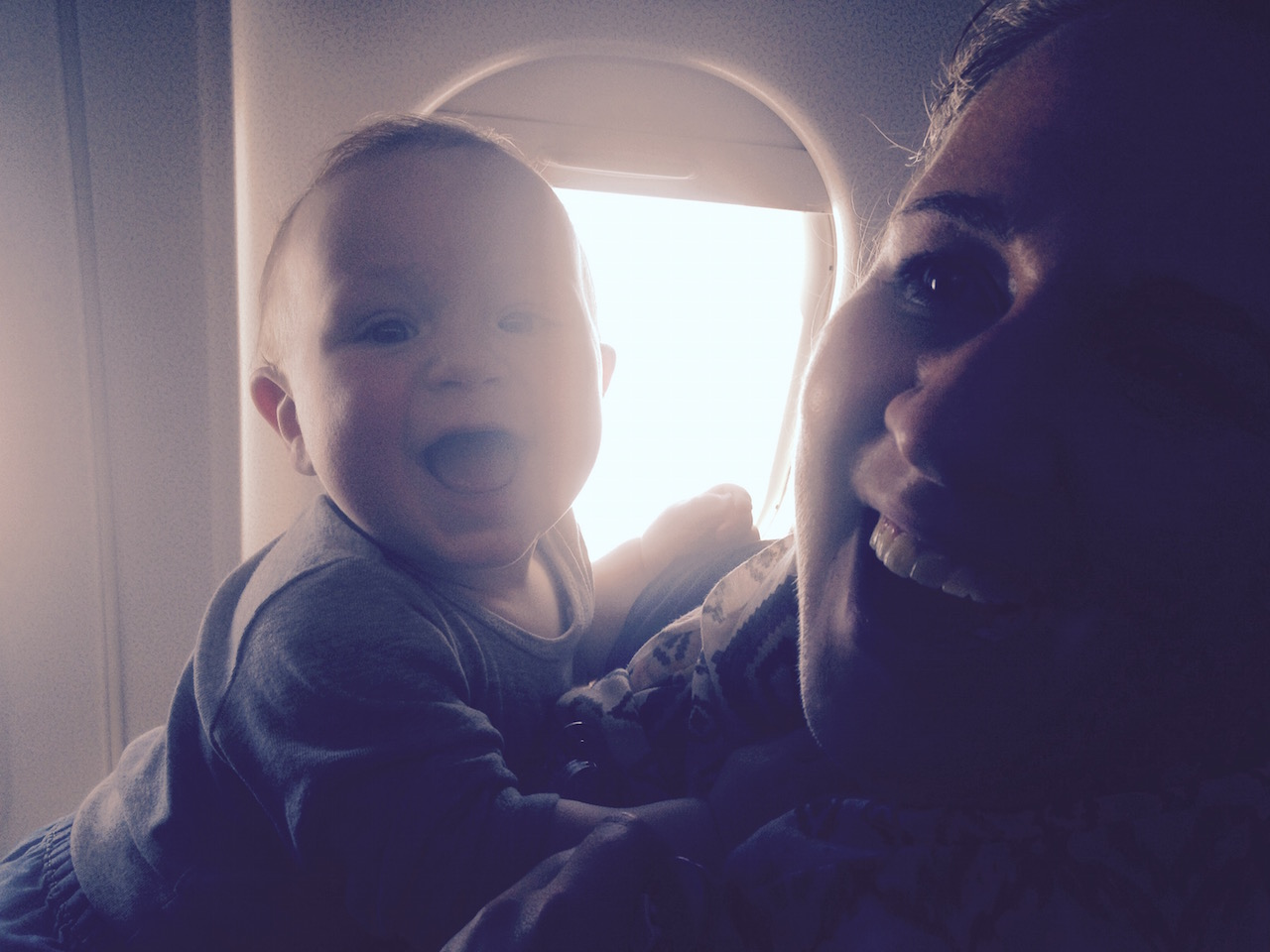 Flugstunden: Die erste grosse Ferienreise mit Kind