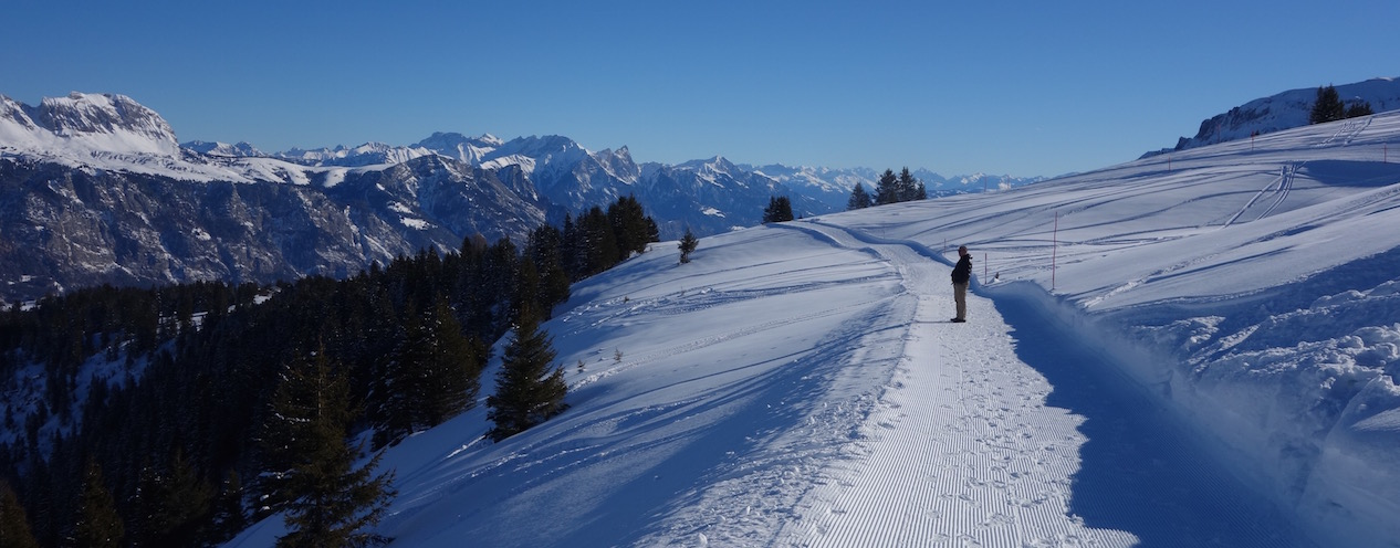 Winterwandern Flumserberg