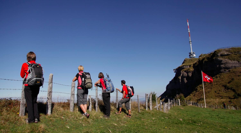 Wanderung auf die Rigi: 1414 Höhenmeter hinauf zum gemeinsamen Glück.
