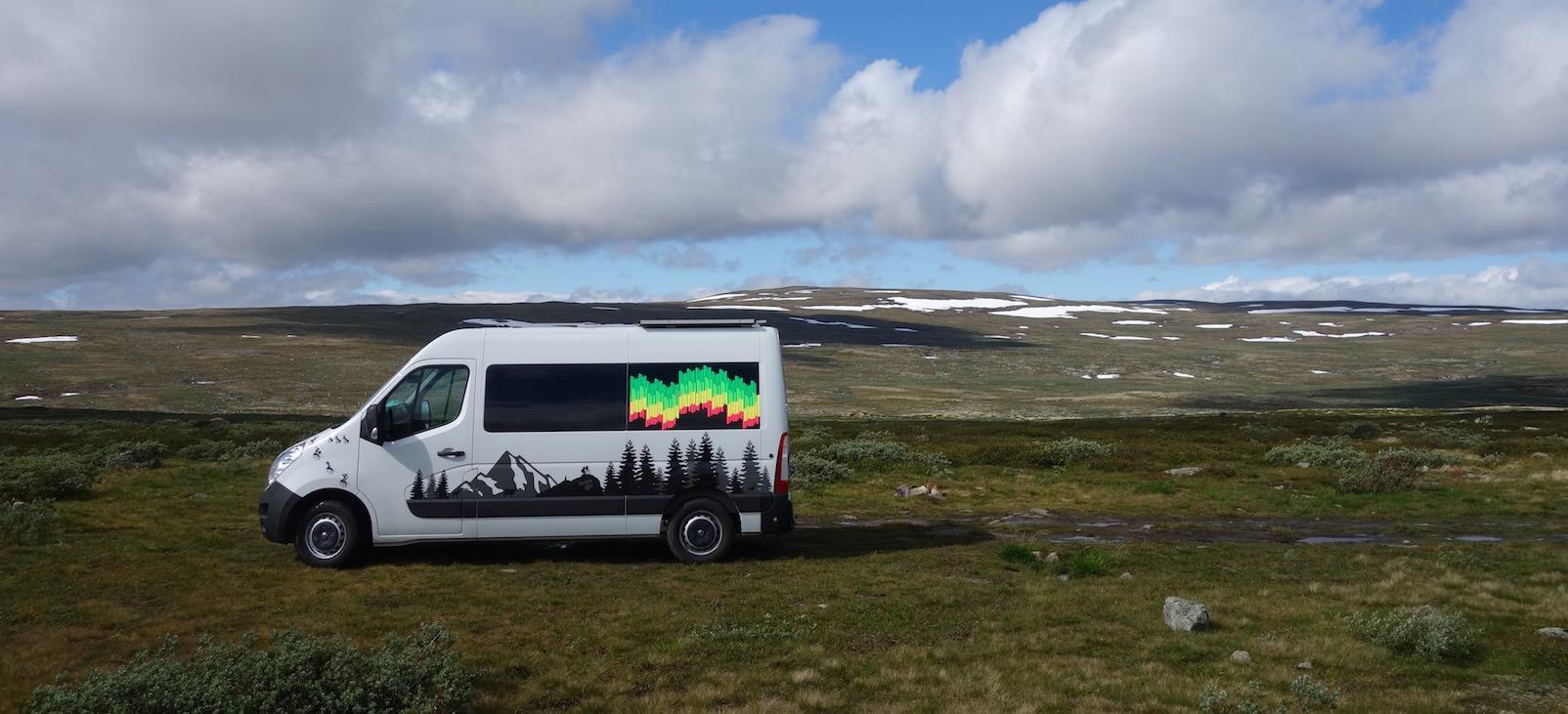 Zahlen und Fakten zu einer dreiwöchigen Norwegen-Reise.