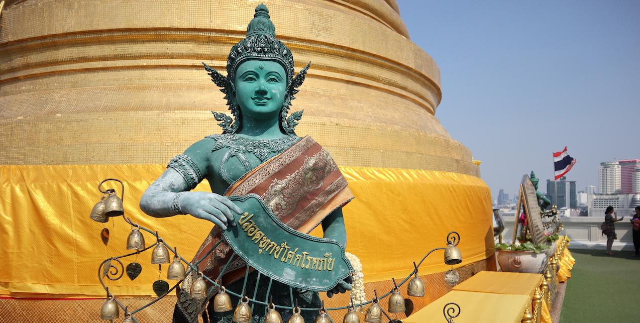 Zugfahrend durch Südthailand mit dem Ziel Koh Libong
