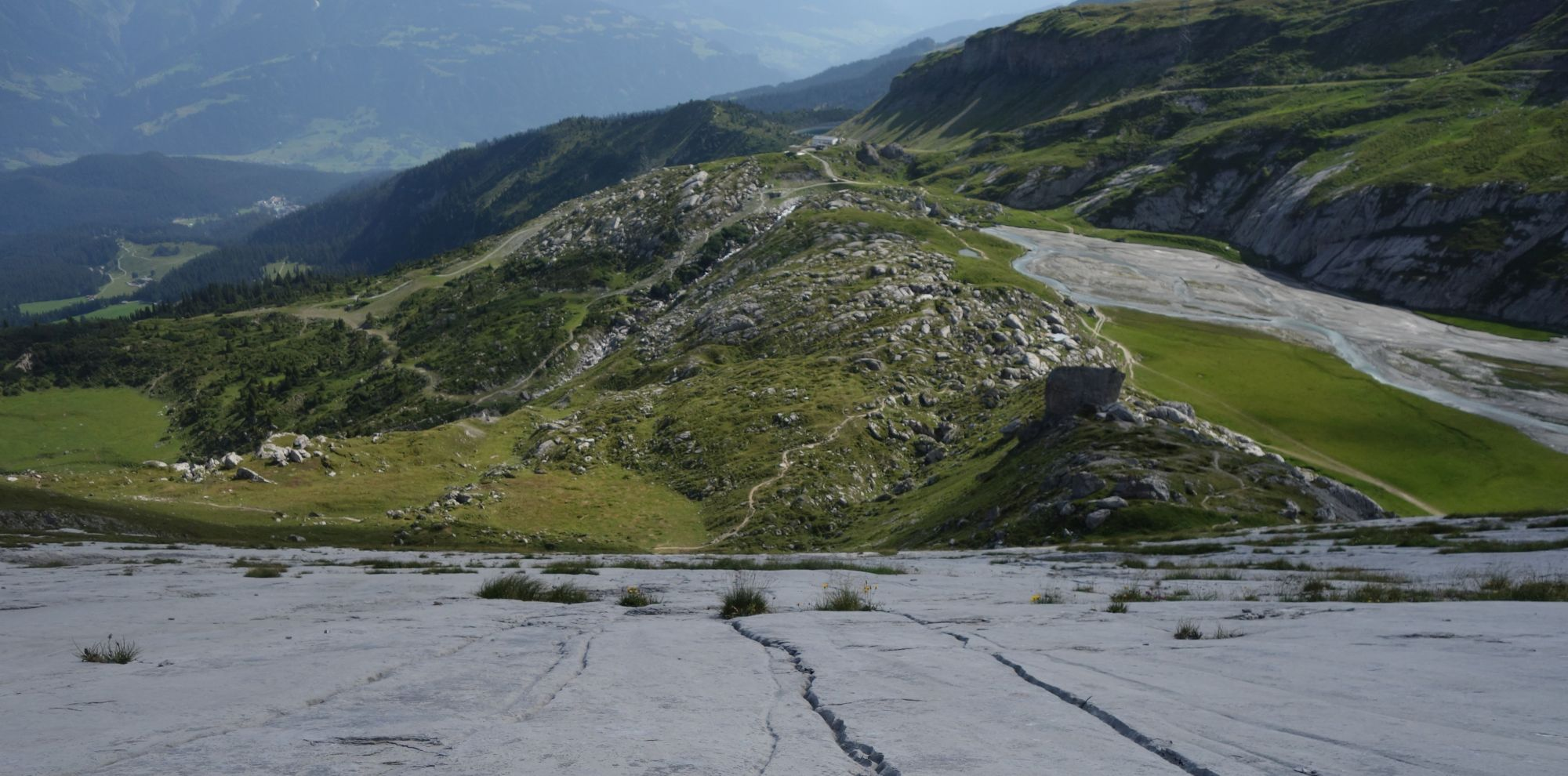 Flims-Laax-Falera – Via Segnesboden hoch zum Segnespass